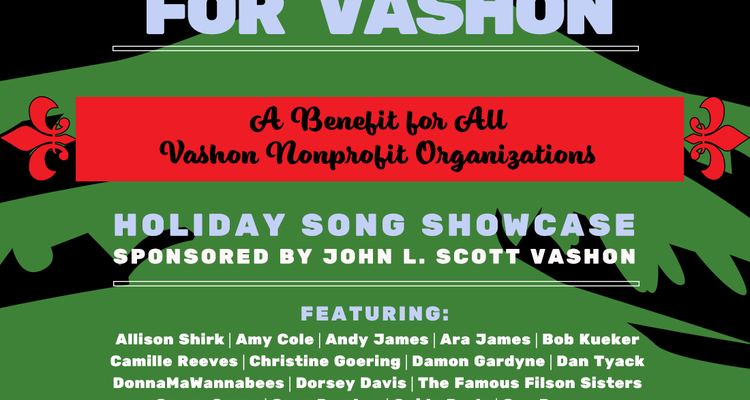 """Will Sing for Vashon"" – A Benefit Concert for Island Nonprofits"